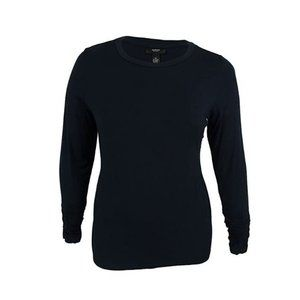 3/$25 NWT Alfani Navy Ruched Pullover Top